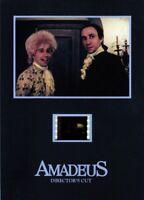 "AMADEUS 1984 Salieri and Mozart Drama 5"" x 7"" SENITYPE FILM CELL and MOVIE PHOTO"