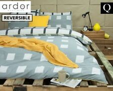 QUEEN BED ARDOR TEMPY COTTON REVERSIBLE 250TC QUILT DOONA COVER & PILLOWCASE SET