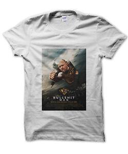 Bullshit Man Poster t-shirt funny nerd tee Karl Pilkington present gift