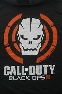 Call Of Duty Black Ops 3 Mens Gaming Gamer T Shirt Size XL Grey
