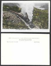 Old Canada Real Photo Postcard - Yoho, British Columbia - Railroad Train