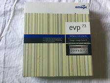 EMAGIC LOGIC EVP 73 SOFTWARE INSTRUMENT EMAGIC VINTAGE PIANO 73 WIN / MAC