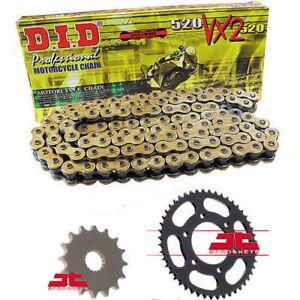 Husaberg FE450 Enduro 2009-2014 DID GOLD VX2 X-Ring Chain & Sprocket Kit