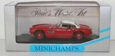 Véhicules miniatures MINICHAMPS en acier embouti BMW