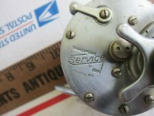 Vintage Shakespeare Service 1944 Model Ge Fishing Reel - Good Working Cond!