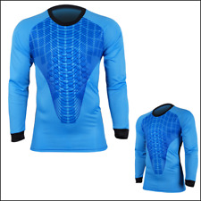 Al 022 Soccer Goalkeeper Jersey Goalie Gk Shirt New Long Sleeve Pad Youth Adult