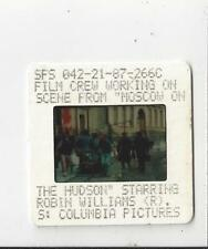 Columbia pictures photo slide filming of Moscow on the Hudson Robin Williams 2in