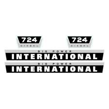 International 724 tractor decal aufkleber adesivo sticker set