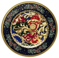"""VERSACE BY ROSENTHAL,GERMANY  """"BAROCK CHRISTMAS"""" BREAD & BUTTER PLATE, 7 INCH"""
