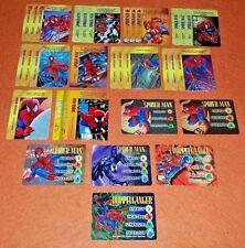 OVERPOWER Spider-Man SET 6 heroes Symbiotic Hillshire Doppleganger 23 sp Marvels