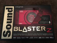 Creative Sound Blaster Z PCIe Gaming Sound Card Mint Condition