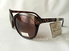 NWT by Oscar de la Renta 1219 Brown 100% Authentic  Sunglasses Women /246/  NEW