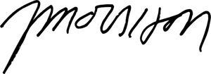 Jim Morrison Autograph Signature VINYL DECAL STICKER The Doors Classic Rock