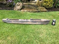 More details for vintage hand carved boat - possibly trench art