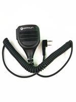 Heavy Duty Speaker Microphone Mic PTT IP54 Waterproof for Kenwood Baofeng Wouxun