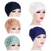 l'inde pac chef. perle muslim scarf cancer de la chimio chapeau ruffle turban
