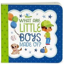 What Are Little Boys Made Of by Minnie Birdsong (2016, Board Book)