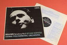 SXL 6172 DECCA WBg ED2 Brahms Symphony No.2 Kertesz VPO STEREO 1st LP UK