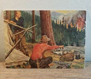 Vintage Philip Goodwin Red Demon of the Forest Puzzle Rare