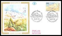 France (Montagne de sainte victoire) 1994  - FDC
