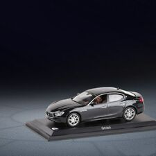 Maserati Ghibli Model Cars Toys 1:43 Collection & Gifts Alloy Diecast Black New