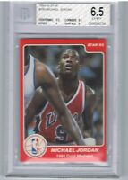 1984 STAR MICHAEL JORDAN RC BGS 6.5 High 9 Subgrades PRE 1986 Rookie Card