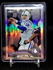 2011 Topps Chrome Football Peyton Manning Refractor #110