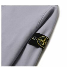 MENS STONE ISLAND SWEAT SHIRT LAVENDER / LARGE BRAND NEW W/TAGS 100% AUTHENTIC