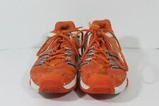 Adidas Orange White Adiprene Running Shoes Men's Size US 10.5 (D1)