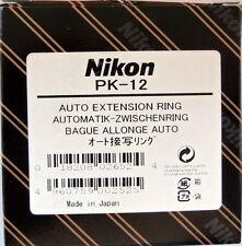 Nikon PK-12 Auto Extension Ring for Close-up Purpose