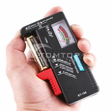 AA/AAA/C/D/9V/1.5V Universal Button Cell Battery Volt Tester Checker BT-168 EW