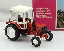 "Made in USSR ☭ ""Беларус МТЗ-82"" Tractor Russian DieCast Model in Box 1:43 Mint!"