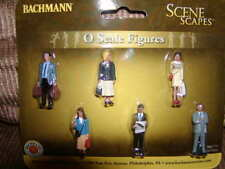 Bachmann Scene Scapes 33160 Standing Platform Passengers Figure Pack MIB O 027