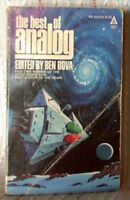 THE BEST OF ANALOG, George R R Martin, Bester, Zelazny, US pb 1979