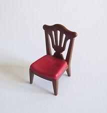 PLAYMOBIL (J2119) EPOQUE 1900 - Chaise Marron Assise Rouge Salle à Manger 5320