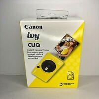 Canon Ivy CLIQ Instant film Camera Printer Bumblebee Yellow