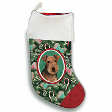 Lakeland Terrier Christmas Stocking
