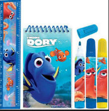 FINDING DORY Birthday Party supply favor STATIONERY SET 5pc markers ruler pad