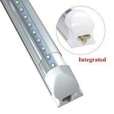 25Pack LED 4 FT T8 Integrated Tube Light W/ Bracket 20w Bright White CLEAR 6500K