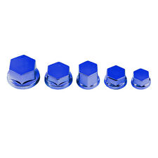 30Pcs Universal Motorcycle Scooter Fairing Bolt Screw Nut Cap Cover Decoration