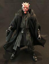"PP-R-DM: Black Wired Fabric Sith Cloak Robe for 6"" Darth Maul (No Figure)"