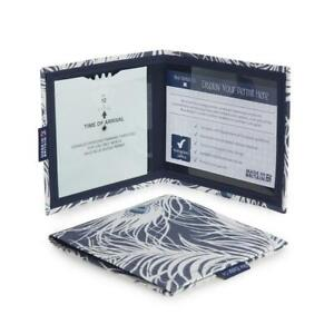 Peacock Feathers Disabled Badge Permit Holder With Time Clock