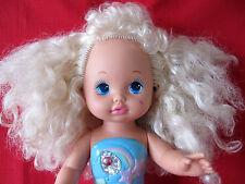 "Vtg ""1988"" Mattel Little Lil Miss Singing Mermaid Doll Tested Sings Works"