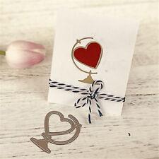 1Pc Love Ornaments Metal Cutting Dies For DIY Scrapbooking Album Paper Cards  IJ
