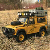 1:18 Almost Real LAND ROVER DEFENDER 90 CAMEL TROPHY DIECAST MODEL + Small Gift