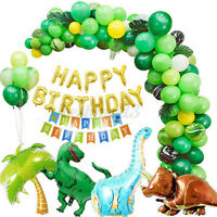 94Pcs Dinosaur Jungle Balloons Garland & Arch Kit Birthday Party Decoration Set