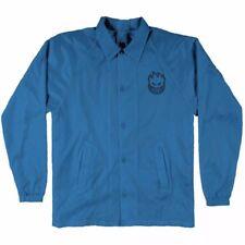 Spitfire Wheels EMBROIDERED BIGHEAD Coach Skateboard Jacket BLUE XL