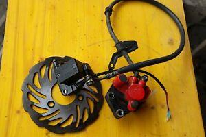Explorer Speed 50 ccm  Bremse vorne Bremsscheibe-,Sattel-,Pumpe neuwertig