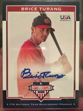 2017 USA Stars & Stripes 17U Signatures #38 Brice Turang Autograph #98/499