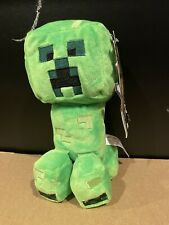 "Minecraft Happy Explorer Creeper 8"" Plush 2020 New With Tags! Free Shipping"